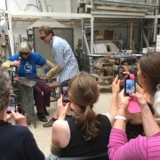 Glass blowing taster courses