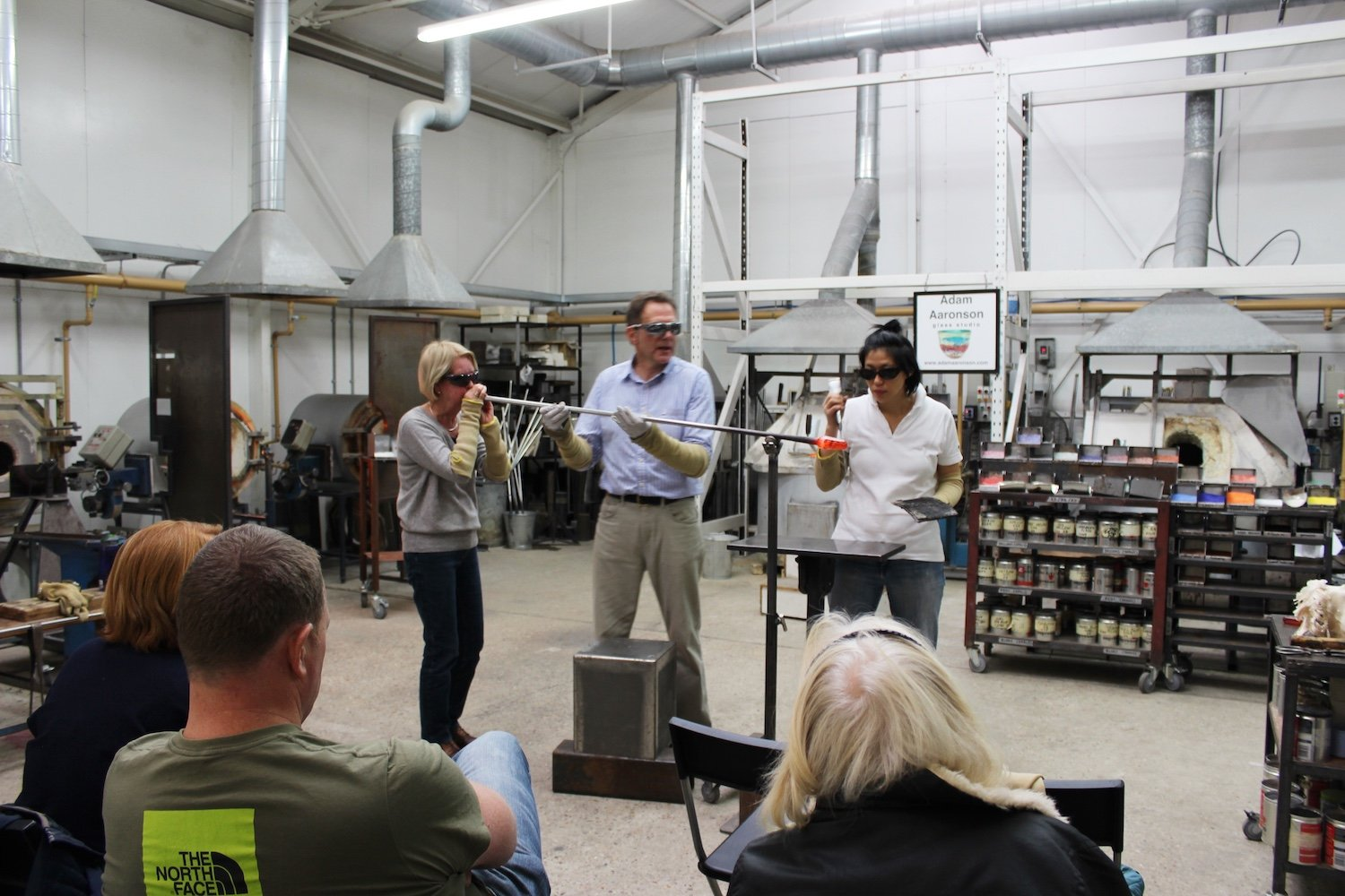 Christmas Holiday Glassblowing Courses in Surrey