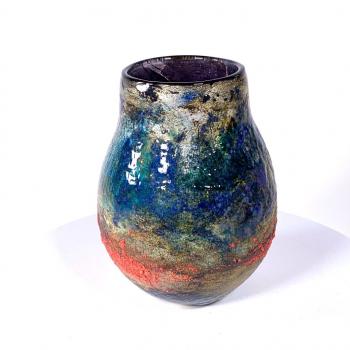 Forest Walk - A Handblown Glass Vase by Adam Aaronson
