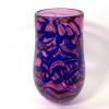 Ruby Blue Morris Vase by Adam Aaronson