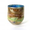 Summer Dawn Landscape Bowl, Handblown by Adam Aaronson