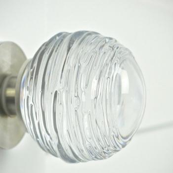 Handmade Glass Aspen Door Handle by Adam Aaronson Studio