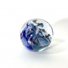 Coral Enigma, a handmade glass paperweight by Adam Aaronson.
