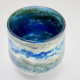 Pale Blue Horizon Vase , Handblown Glass by Adam Aaronson