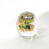 Sunflowers is a handmade glass paperweight by Adam Aaronson