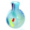 Azure Large Beachcomber Bud Vase Handmade Glass by Adam Aaronson