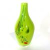 Lime Beachcomber Small Bottle Handmade Glass by Adam Aaronson