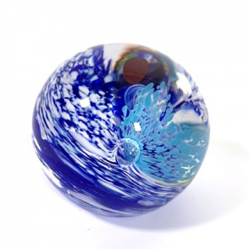 Ocean Spray Handmade Glass Paperweight by Adam Aaronson