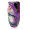 Secret Garden Small Cylindrical Vase Handblown Glass by Adam Aaronson