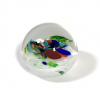 Winter Harmony Handmade Glass Paperweight by Adam Aaronson