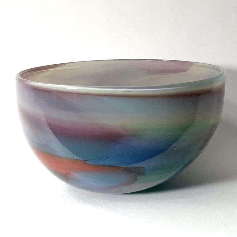 Beachcomber Horizon Bowl Handblown Glass by Adam Aaronson
