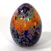 Rainbow Egg Hand Made Glass by Adam Aaronson