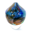 Blue Rhapsody Vase Handblown glass by Adam Aaronson