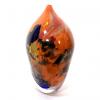 Orange Rhapsody Vase Handblown glass by Adam Aaronson