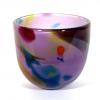 Small Amethyst Beachcomber Bowl Handblown Glass by Adam Aaronson